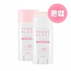 APIEU Power Block Tone Up Sun Stick (Pink) SPF50+ PA++++ 15g