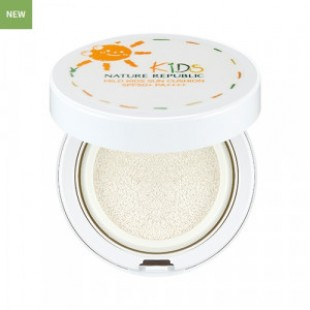 NATURE REPUBLIC Green Derma Mild Kids Sun Cushion SPF50+ PA++++ 12ml