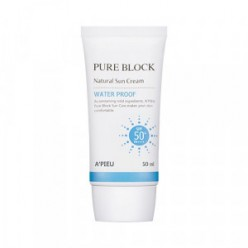 APIEU Pure Block Natural Waterproof Sun Cream SPF50+ PA+++ 50ml