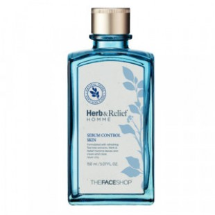 THE FACE SHOP Herb & Relief Homme Sebum Control Skin 150ml