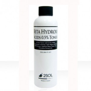 2SOL Beta Hydroxy Acids 0.5% Toner 200ml