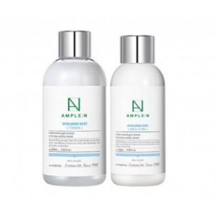 AMPLE N Hyaluron Shot Toner 220ml +emulsion 130ml