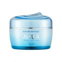 NATURE REPUBLIC Super Aqua Max Fresh Watery Cream 80ml (BLUE)