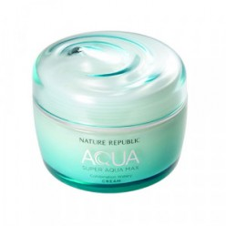 NATURE REPUBLIC Super Aqua Max Combination Watery Cream 80ml (GREEN)