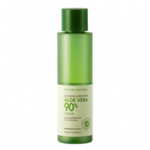 NATURE REPUBLIC Soothing & Moisture Aloe Vera 90% Toner 160ml