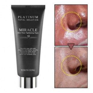 TOSOWOONG Miracle platinum pore skin tightening pack 150g