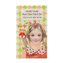 THE SAEM Secret Pure Nose Clear Patch Set 1ea